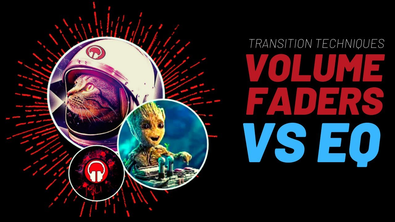 DJ Volume faders vs EQ Image