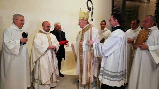 San Magno, dedicazione della nuova chiesa