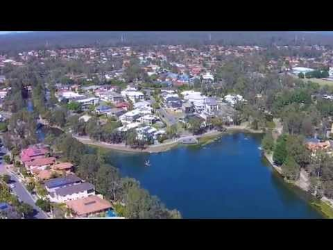 Forest Lake flyover with DJI Phantom 2 Vision+