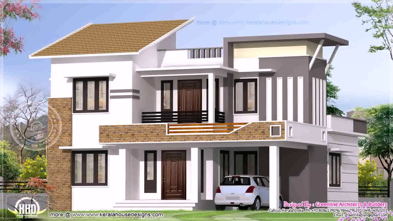 Home Design Outside Look In India Youtube