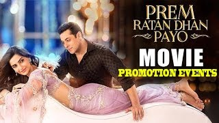 Prem Ratan Dhan Payo 2015 | Salman Khan, Sonam Kapoor | Full Movie Promotions Event Video!