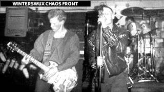 Winterswijx Chaos Front - Kanker Tyfus (hardcore punk Netherlands)