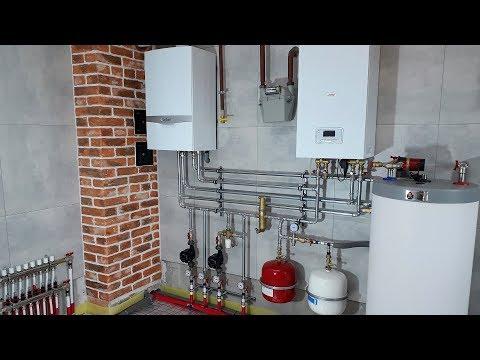 Система отопления и водоснабжения частного дома