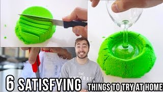 6 VERY Satisfying Things To Try At Home!