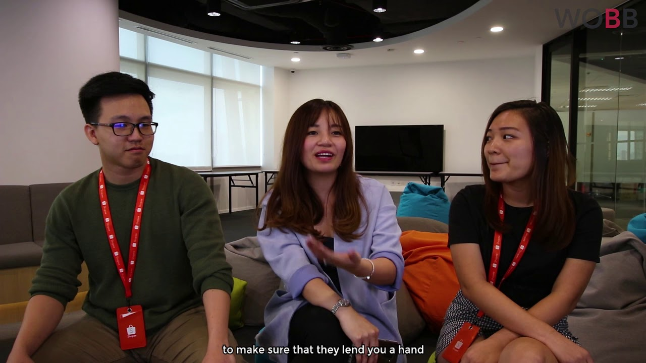 Here\u0026#39;s how you as an employee, can grow with Shopee! | WOBB - YouTube