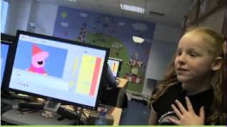 Harley Bird on CBBC Newsround