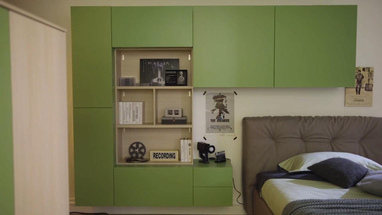 Moretticompact camere made in italy legno innovazione for Mobili di design in offerta