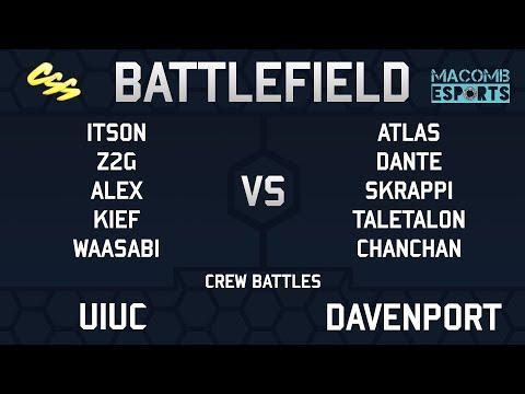 [MESA: Battlefield 5] Crew Battles: UIUC vs. Davenport, IA