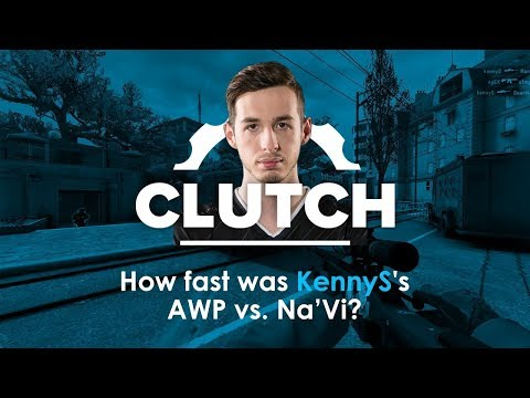 How fast was KennyS's AWP vs. Na'Vi?