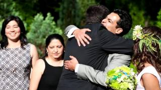 Ивовая свадьба Рикардо и Анны