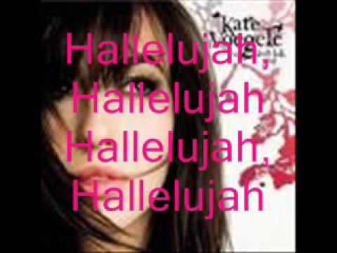 Kate Voegele - Hallelujah - Karaoke
