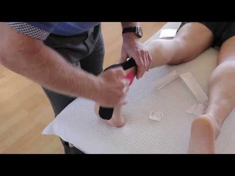 How to treat a painful foot / plantar fasciitis with Kinesiology Taping