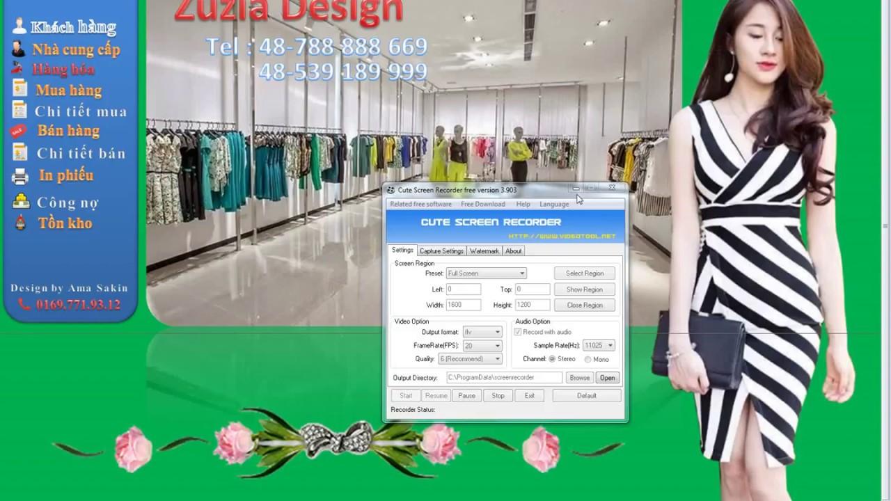 Hướng dẫn quản lý shop quần áo Xuất Nhập Tồn trên excel 2010