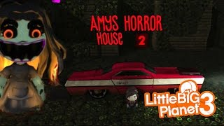 Little Big Planet 3 ★ SCARY LEVELS ★ AMY'S HORROR HOUSE 2