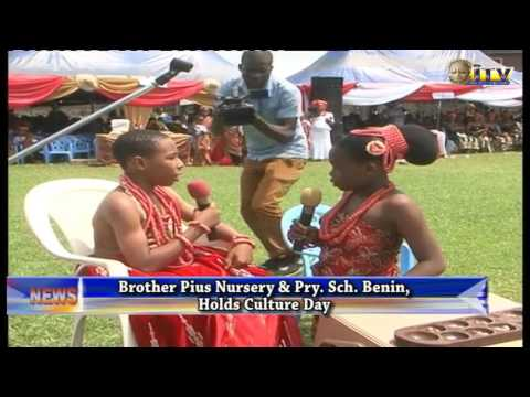 Brother Pius Nursery and primary school, Benin Holds Culture Day