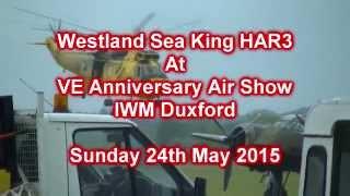 Westland Sea King HAR3 At VE Day Anniversary Airshow Duxford