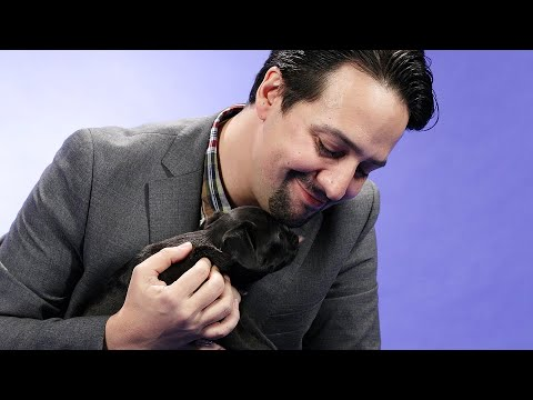 Lisa Foxx - Lin-Manuel Miranda Answers Questions While Playing With Puppies!