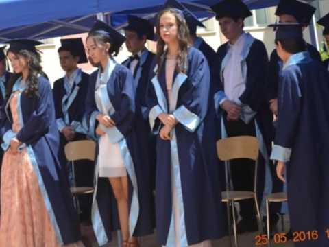Tashkent Ulugbek Int'l School - Graduation 2016.