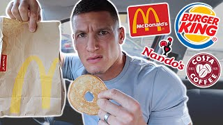 Eating fast food employees' LEAST favourite foods for 24 hours...
