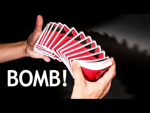 Deck Review - Bomb Playing Cards - AS IS NYC / Anyone World Wide