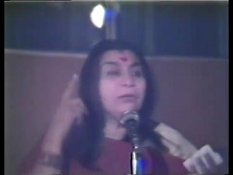 1981-0327 Nabhi Chakra, Public Program, Maccabean Hall, Sydney, Australia, subtitles
