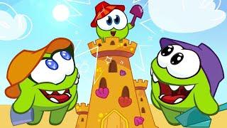 Om Nom! Castello di Sabbia ed altre Avventure con Om Nella e Baby Nom! - Cartoni animati per bambini