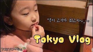도쿄 브이로그 • 아기책 정리하고 닭갈비집에서 쓸쓸+…