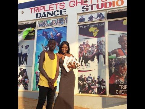Triplets Ghetto Kids Dance Studio Grand Opening CEREMONY