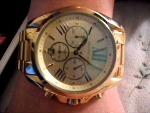 593cc53876e0 Michael Kors Watch MK5605 - YouTube
