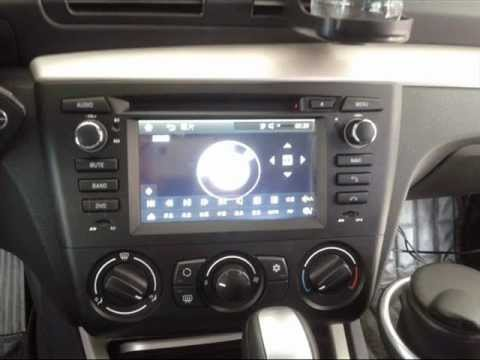 Watch on touch screen car radio in