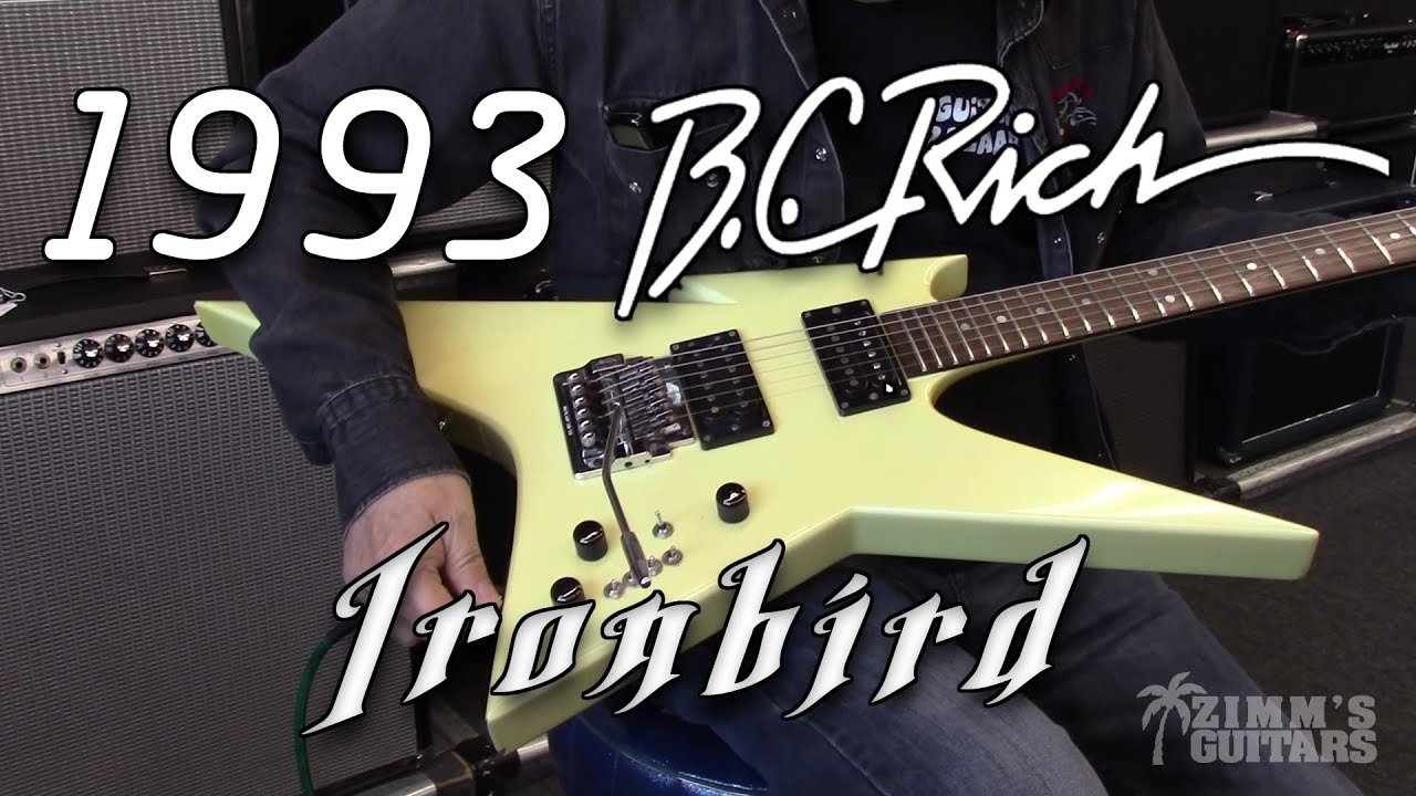 Nj ironbird bc rich Any info