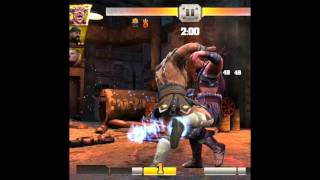 WWe Immortals iOS/Android battle20 gameplay