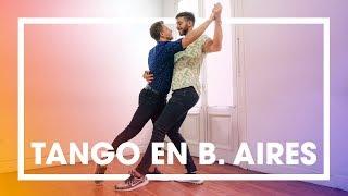 EL TANGO ENTRE HOMBRES   APRENDEMOS A BAILAR EN BUENOS AIRES (4K)   enriquealex