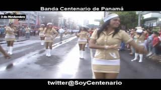 BANDA CENTENARIO - 3 DE NOVIEMBRE 2011 - CALLE 50 CIUDAD DE PANAMÁ (PARTE 3)