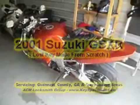 Suzuki Motorcycle Lost Key