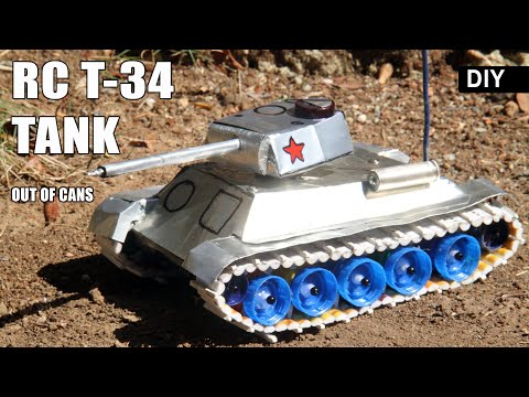 Download How To Make Rc Tank T 34 85 At Home Diy With