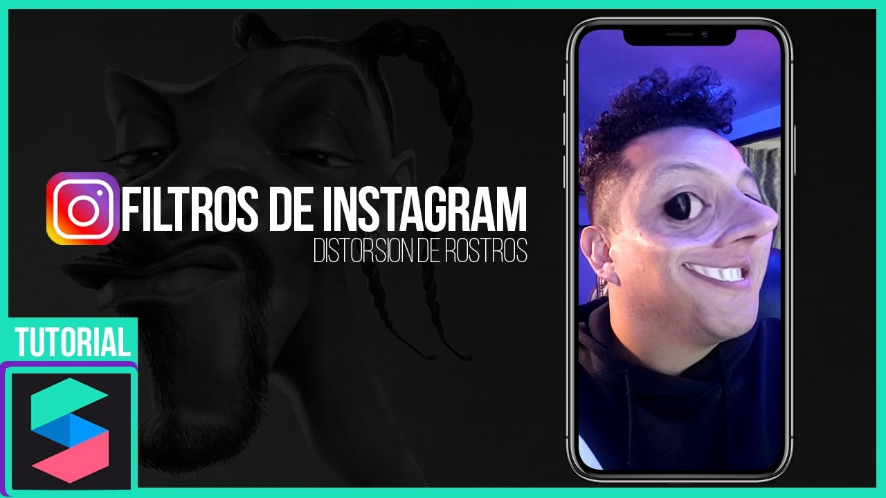 Crea Un Filtro De Instagram Para Distorsionar Rostros Youtube