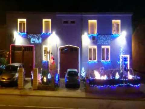 show lumineux et musical d coration de no l a gomelange eclairage de noel 2014 en moselle youtube