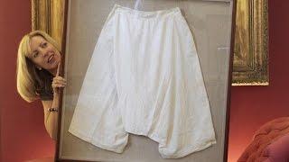 Панталоны королевы Виктории уйдут с молотка
