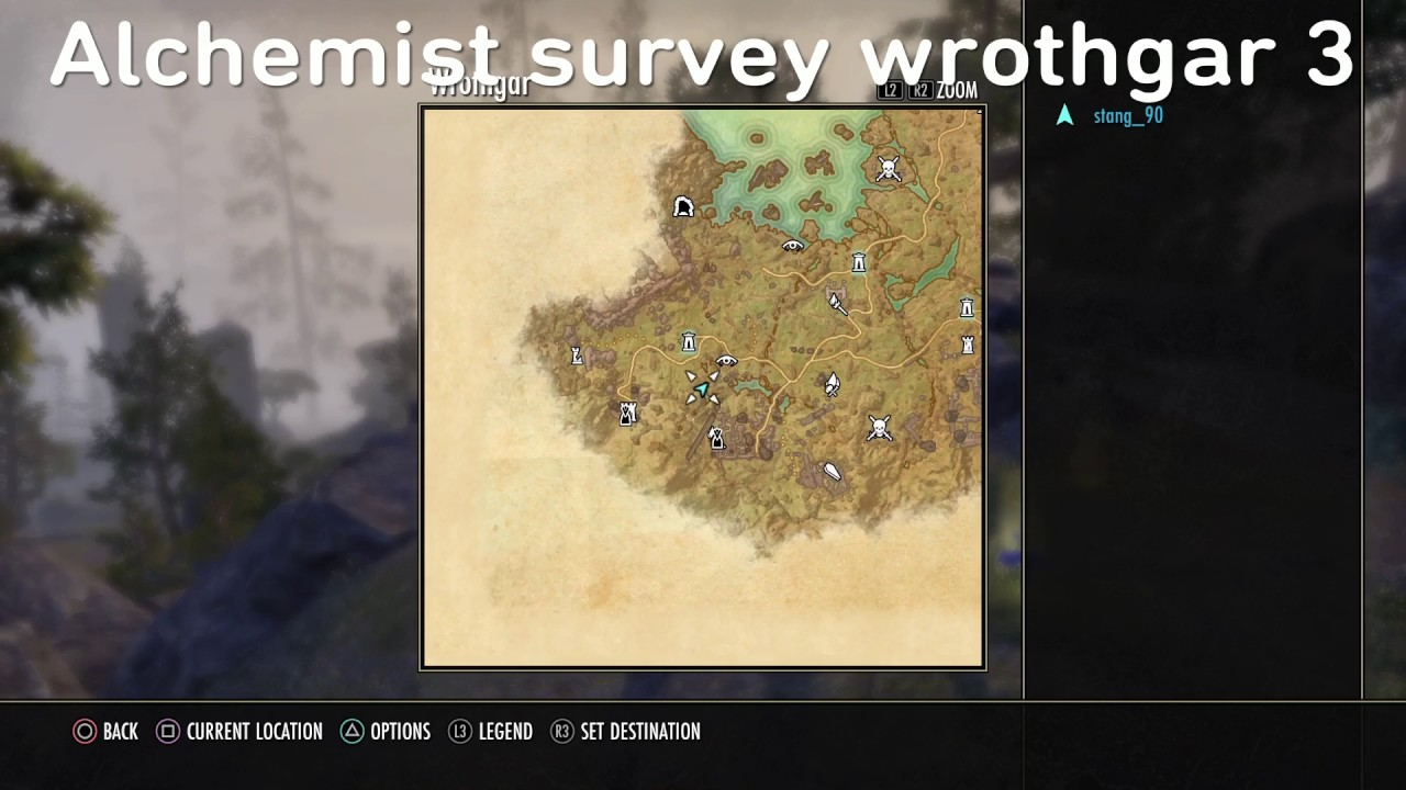 Alchemist Survey Wrothgar 3 Location Youtube