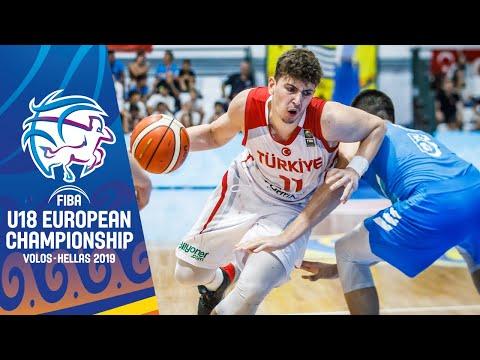 Turkey V Slovenia - Full Game - FIBA U18 European Championship 2019