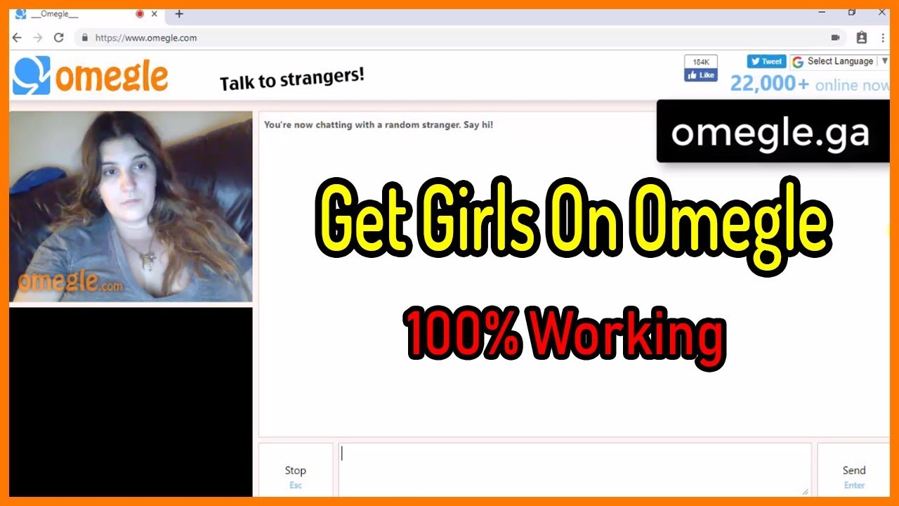 Random girl only omegle chat Top Online