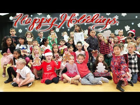Happy Holidays Kids School Program With Trinity and Madison!! Merry Christmas!