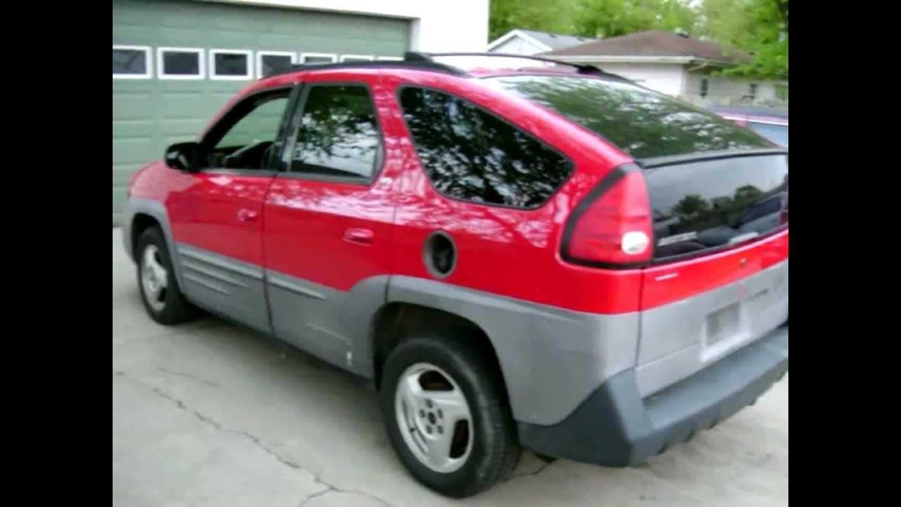 2001 pontiac aztek 3400 gm engine 4 door suv bought for 1500 [ 1280 x 720 Pixel ]