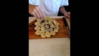 Юбилейное видео / Видео урок / Как сделать чипсы дома!!!(, 2016-09-01T10:27:02.000Z)