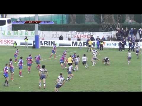 Highlights / Mogliano Rugby - Femi-CZ Rovigo Delta / 20/12/2014