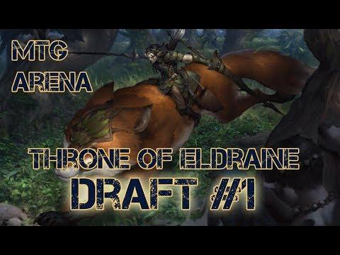 Драфт №1 - Throne Of Eldraine | MTG Arena