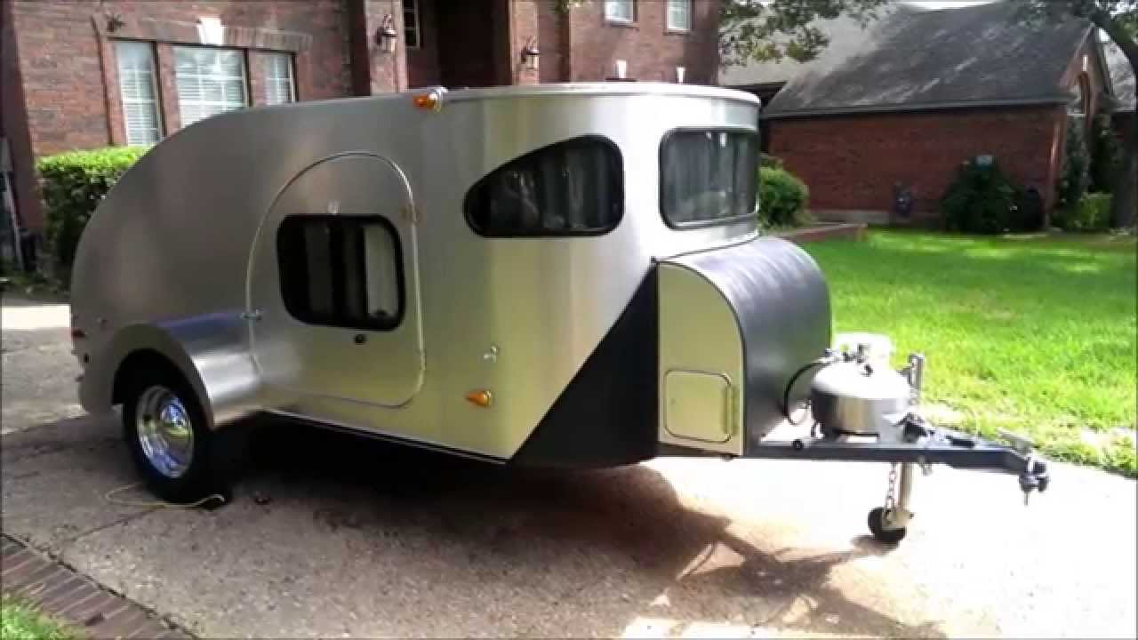 2012 Campinn 560 Ultra Teardrop Trailer Youtube
