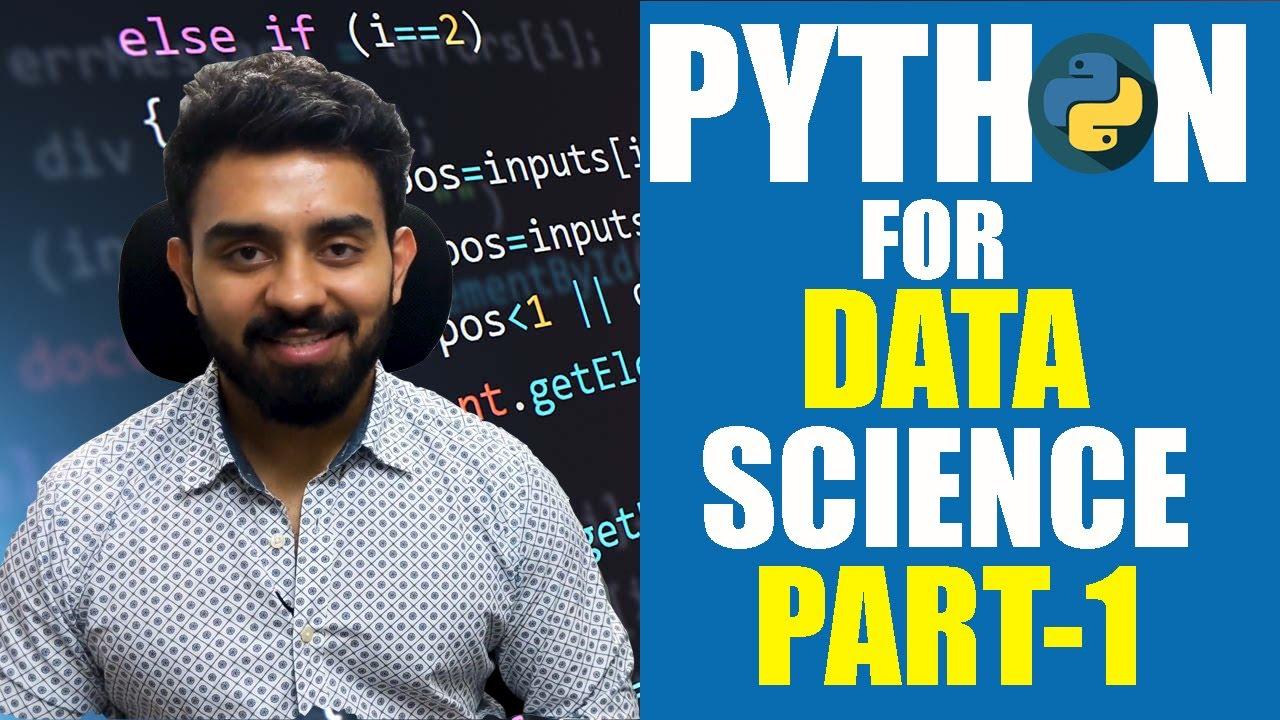 Python Fundamentals for Data Science