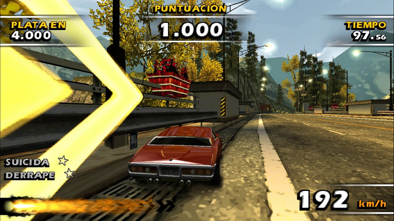 descargar burnout dominator ppsspp game